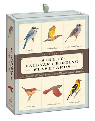 Sibley Backyard Birding Flashcards By Sibley, David Allen